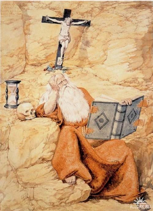 Richard Dadd - a Hermit