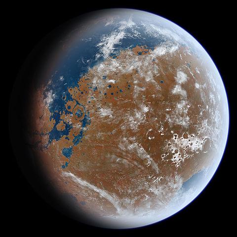 地球に似た惑星の写真