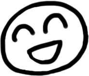 笑顔のイラスト